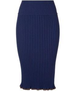 AKANE UTSUNOMIYA | Ribbed Pencil Skirt