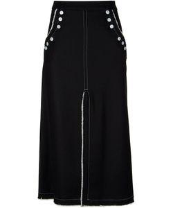 AKANE UTSUNOMIYA | Frayed Trim Skirt