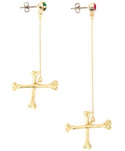 SISTER ORIGINAL | Crossbones Pendant Earrings