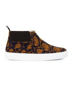 AMB | Paisley Print Hi-Top Sneakers