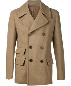 CAMOSHITA BY UNITED ARROWS | Double-Breasted Peacoat