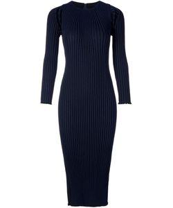 TARO HORIUCHI | Облегающее Платье В Рубчик