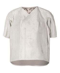 Rick Owens | Куртка-Кокон С Короткими Рукавами