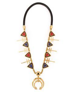 AMBUSH   Stone Embellished Pendants Necklace