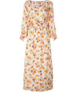 LOUIS FERAUD VINTAGE | Платье С Цветочным Принтом