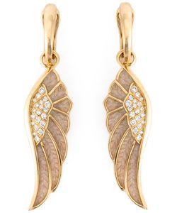 GARRARD | Diamond Detail Wing Earrings
