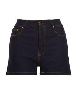 AMAPO | High Waisted Denim Shorts