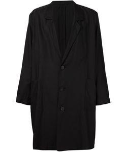 SECOND/LAYER | Объемное Однобортное Пальто