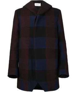 SONG FOR THE MUTE | Checked Hooded Coat