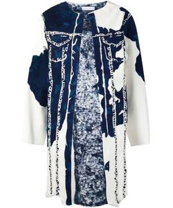 FAUSTINE STEINMETZ | Painted Effect Denim Coat
