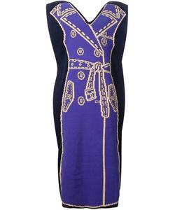 XIAO LI | Объемное Трикотажное Платье