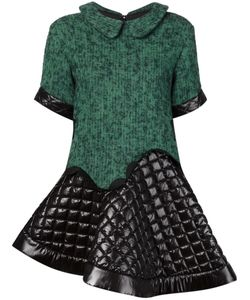 TAMAKI FUJIE | Quilted Skirt Combo Dress