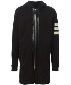 Cy Choi | Куртка С Капюшоном И Контрастными Заплатками