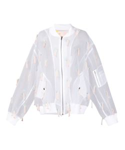 Mikio Sakabe | Organza Embroidered Jacket