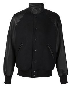N. Hoolywood | Университетская Куртка С Панельным Дизайном