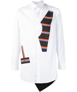 Agi & Sam | Рубашка С Полосатыми Панелями