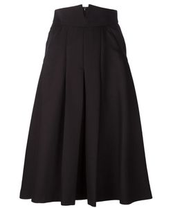 MAME | Front Cut-Out Circle Skirt