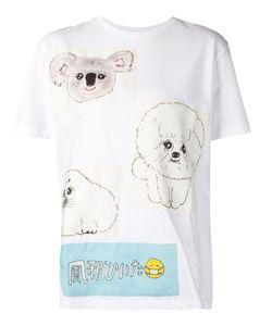 Mikio Sakabe | Dog Motif T-Shirt