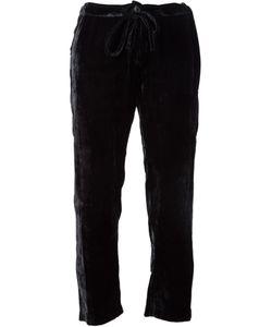 BEAU SOUCI | Velour Drawstring Trousers