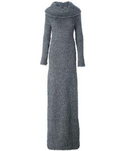 Pas Du Tout | Cowl Neck Long Knitted Dress