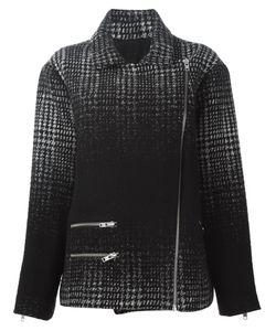 Pas Du Tout | Байкерская Куртка В Клетку Омбре