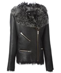 Pas Du Tout | Байкерская Куртка С Подкладкой Из Овчины