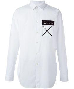 Cy Choi | Рубашка С Контрастными Заплатками
