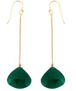 KATERINA PSOMA | Drop Pendant Stone Earring