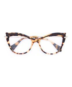 Miu Miu Eyewear | Tortoiseshell Cat Eye Frames
