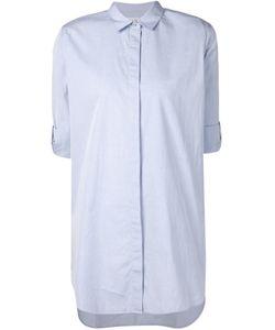 Mih Jeans   Удлиненная Классическая Рубашка