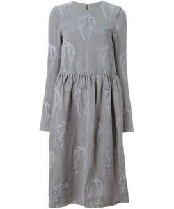 ALICE WAESE | Платье С Длинными Рукавами И Вышивкой