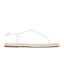 Rene' Caovilla | René Caovilla Embellished Sandals Size 38