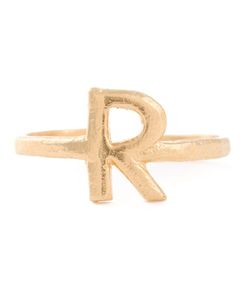 BJORG | R Alphabet Ring