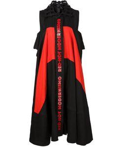 Bernhard Willhelm   Платье-Рубашка С Панельным Дизайном