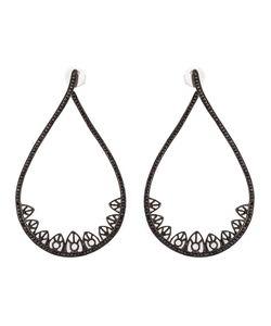 JO LLE JEWELLERY | Gothic Teardrop Diamond Earrings