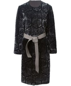 GIANFRANCO FERRE VINTAGE | Reversible Patterned Coat