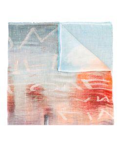 Faliero Sarti | Lettering Print Scarf