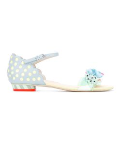 Sophia Webster | Pastel Embellished Sandals 36 Leather/Plastic