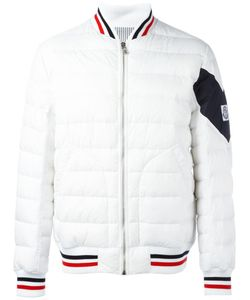 Moncler Gamme Bleu | Quilted Baseball Jacket 5 Polyamide/Cupro/Feather