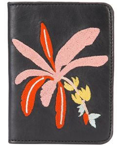 LIZZIE FORTUNATO JEWELS | Banana Tree Passport Case Leather