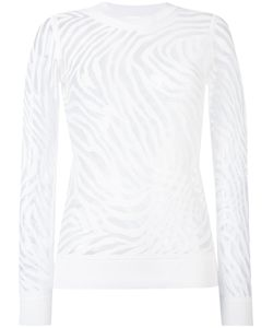 Michael Michael Kors | Sheer Zebra Pattern Jumper