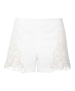 Alice + Olivia | Sheer Side Panel Shorts