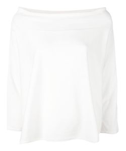Aspesi | Off-The-Shoulder Jersey Top Xs