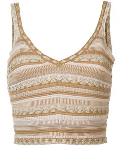 Alice + Olivia | Fitted Vest Top Size Xs