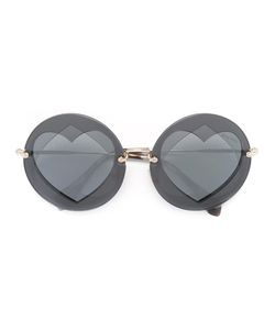 Miu Miu Eyewear | Hearts Motif Sunglasses Acetate/Metal