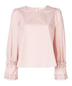 See By Chloe | Embellished-Sleeve Top