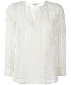 Elizabeth And James | Lace Blouse Medium Silk