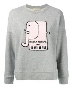 Maison Kitsune | Maison Kitsuné Elephant Motif Sweatshirt