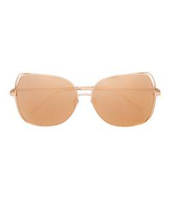 Linda Farrow | Oversized Sunglasses Metal Other/Acetate