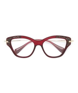 Miu Miu Eyewear | Noir Glasses Acetate/Metal Other